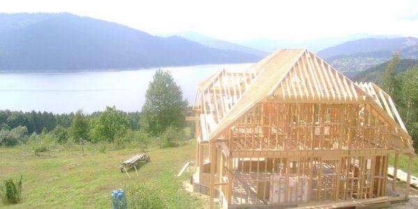 Case lemn din panouri 1